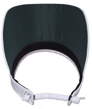 WHITE CLEAR DOT Women's Golf Visor
