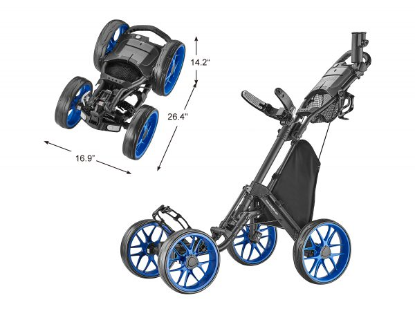 CaddyTek Golf Push Cart
