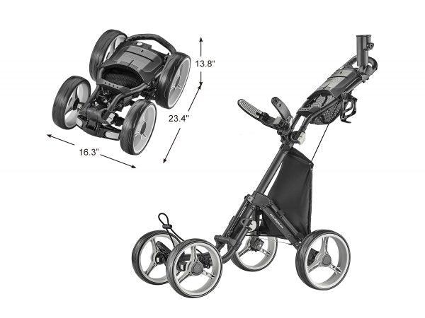 CaddyTek Explorer Version 8 Golf Push Cart