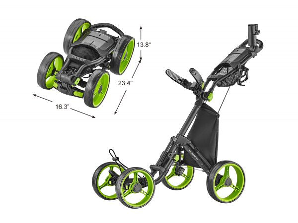 4-Wheel Golf Push Cart