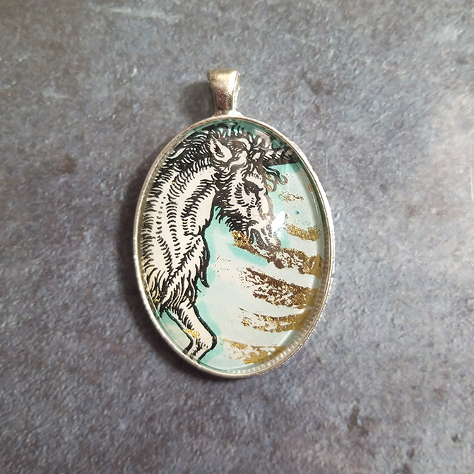 Pendant: Unicorn