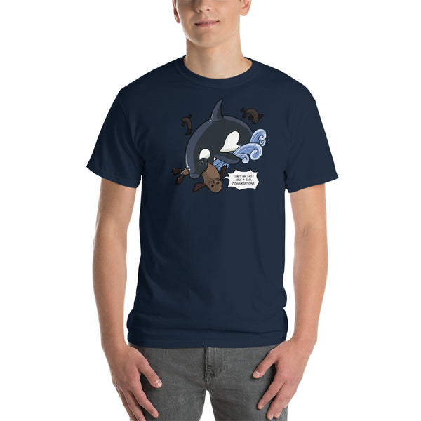 Sea Lion Snack: Short-Sleeve T-Shirt