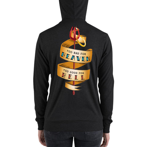 Hoodie: Too Bad for Heaven, Too Good for Hell