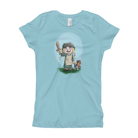 The Littlest Valkyrie: Kids T-Shirt