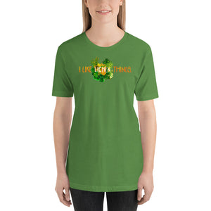 I Like Lichen Things: Short-Sleeve T-Shirt