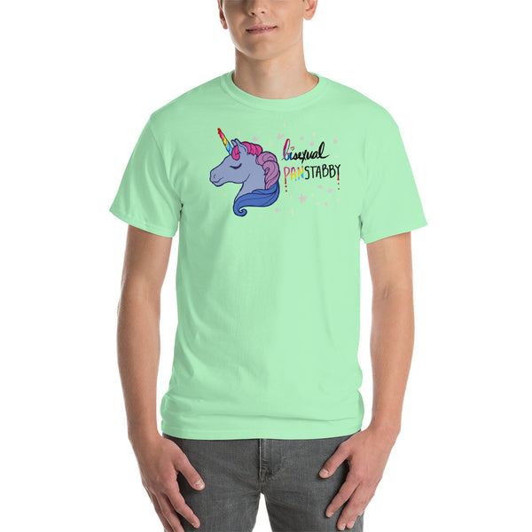 Bisexual, Panstabby: Short-Sleeve T-Shirt