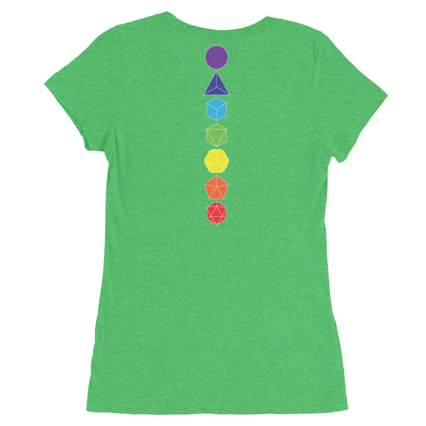 Dice Chakra: Short-Sleeved T-Shirt