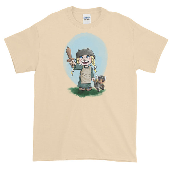 The Littlest Valkyrie: Short-Sleeve T-Shirt