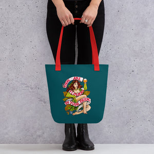 There are Flowers in Your Beer - Tote Bag