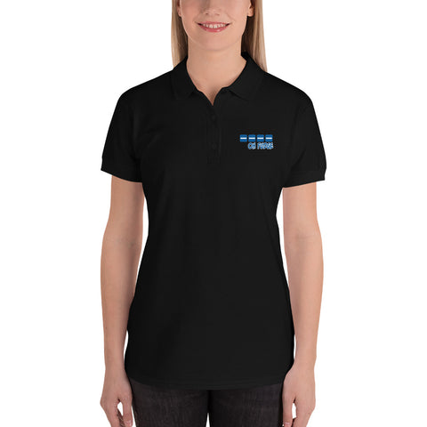Oh Fudge: Embroidered Women's Polo Shirt