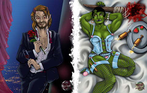 Pinups: Incubus and Orc