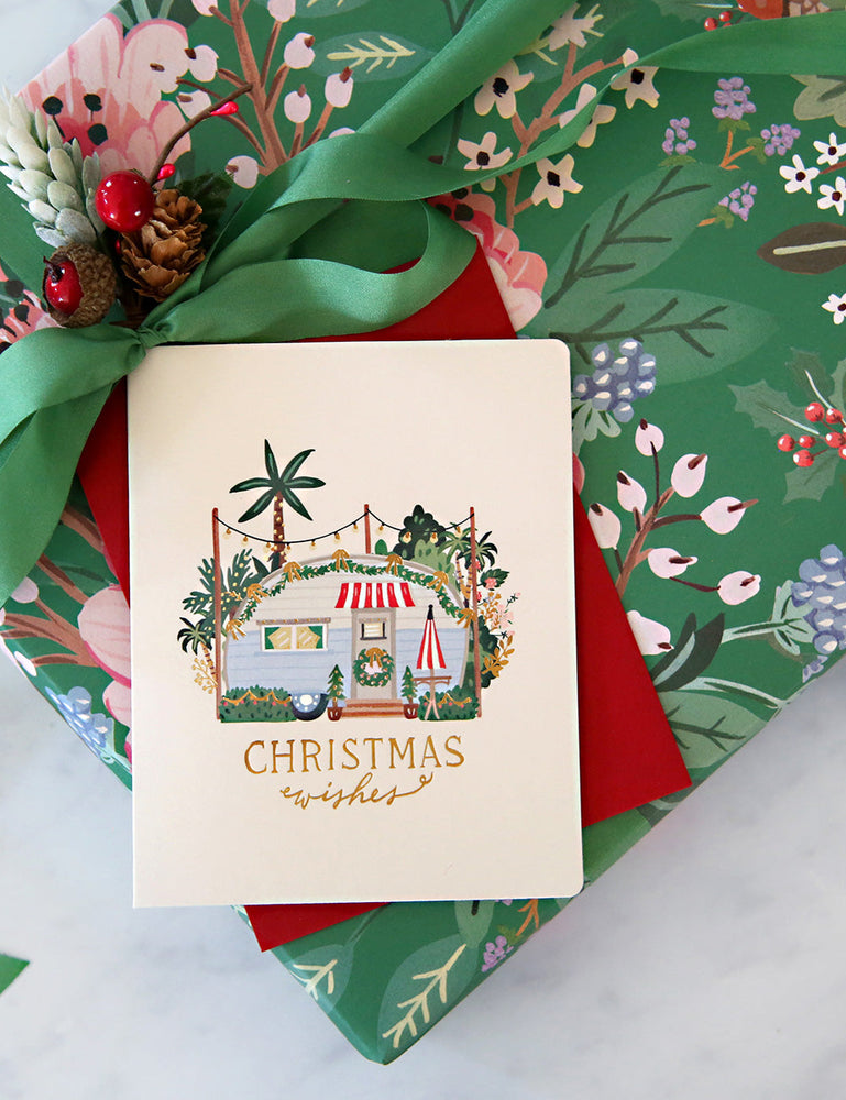 Caravan Christmas Cards -  6 Pack
