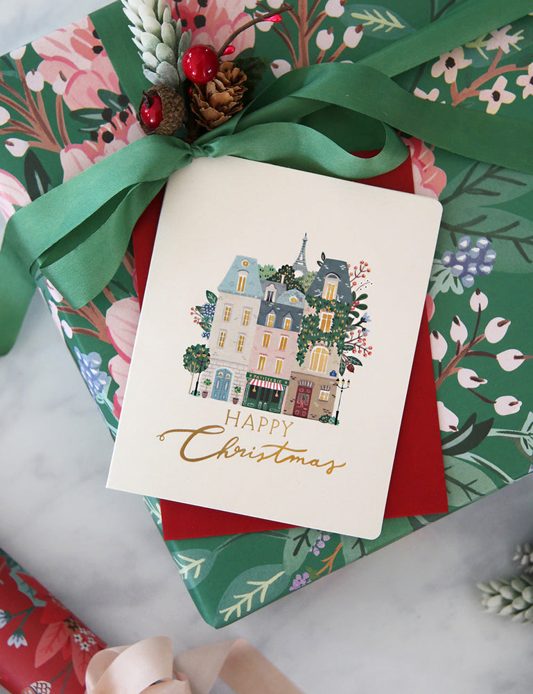 "Paris ""Happy Christmas"""