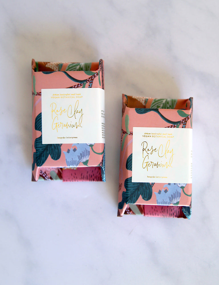 Bundle - Rose Clay Geranium + Lemon Myrtle Soap
