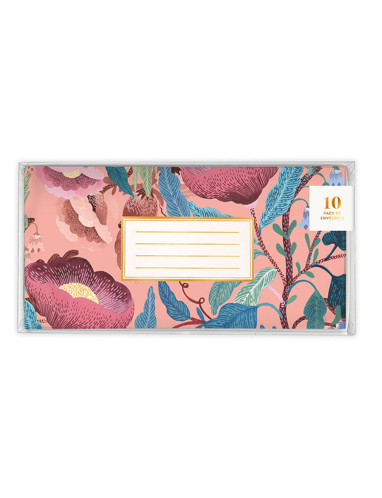 Blomstra 10 Pack DL Envelopes - Swedish Forest