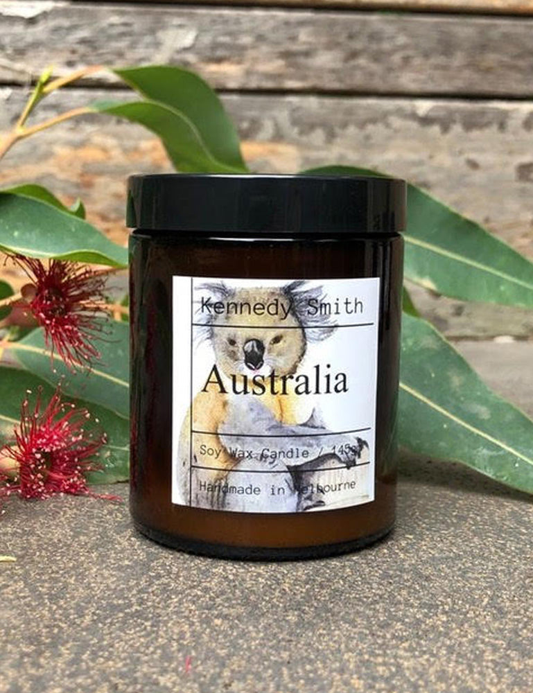 Australian Koala Candle - Kennedy Smith