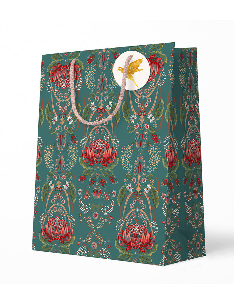Large Gift Bag - Teal