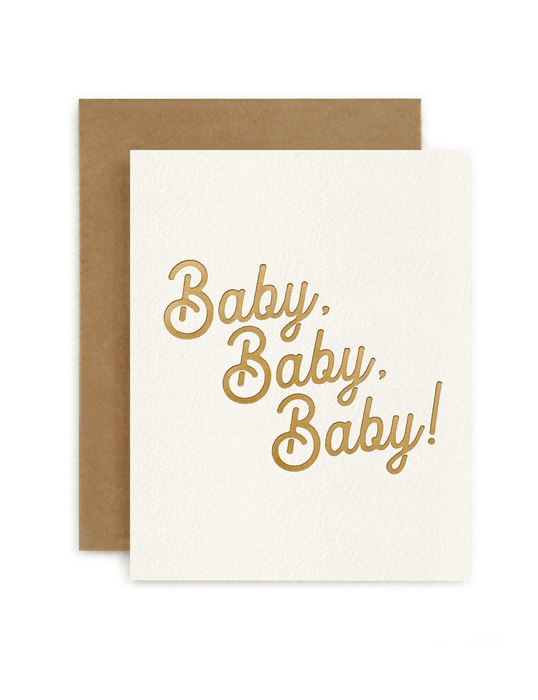 Petite Card - Baby Baby Baby!