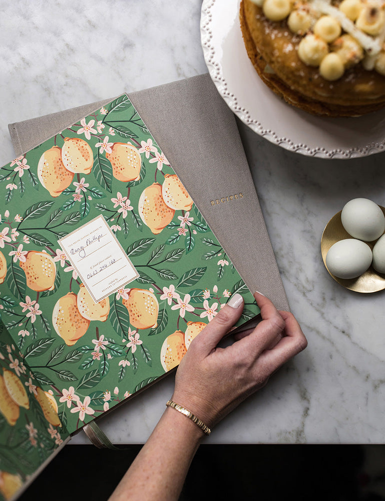 Heirloom Recipe Book - Lemons