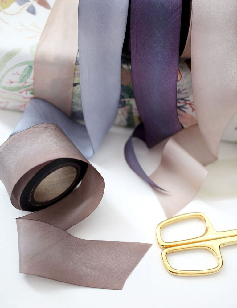 Dusty Mauve Silk Ribbon - 3 metres