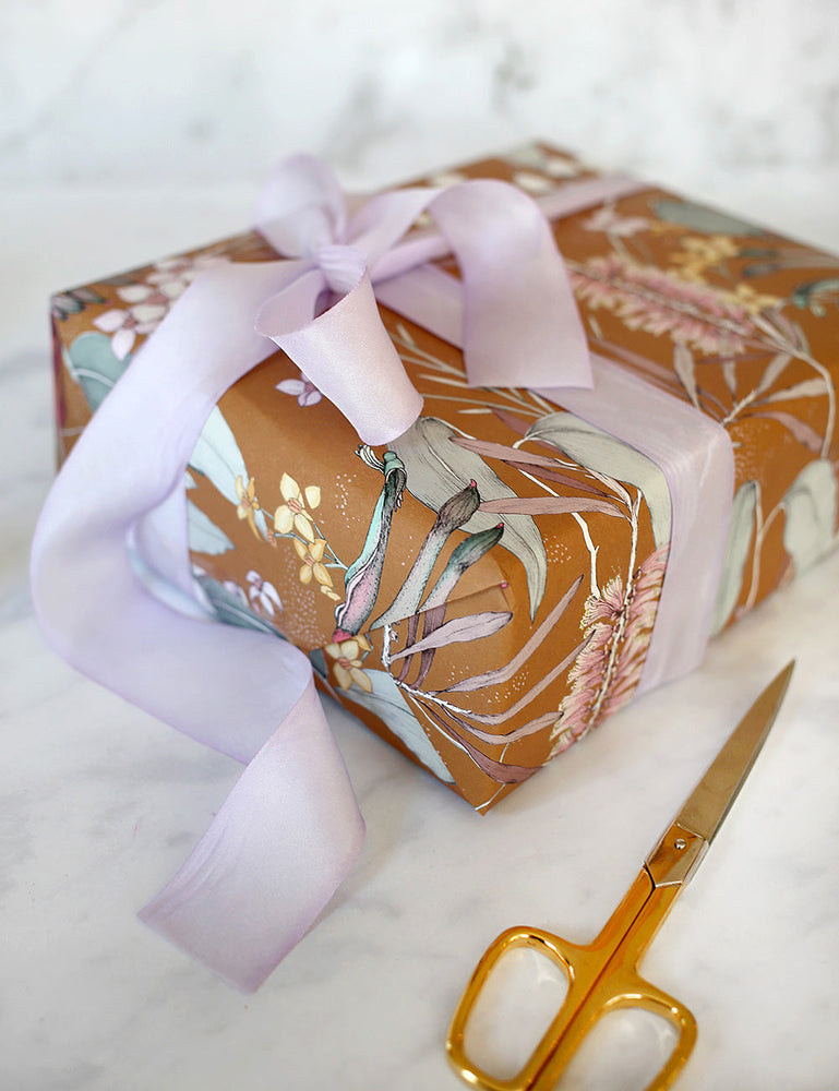 Lilac Silk Ribbon - 3 metres