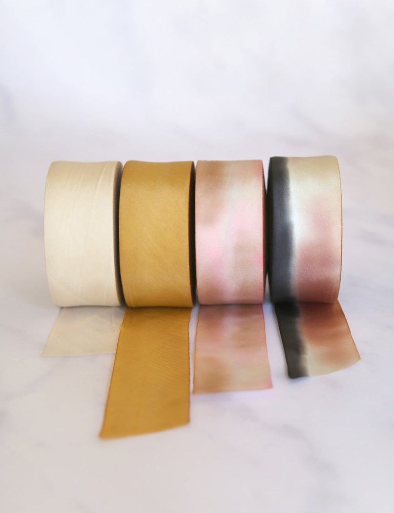 Sunset Silk Ribbon - 3 metres