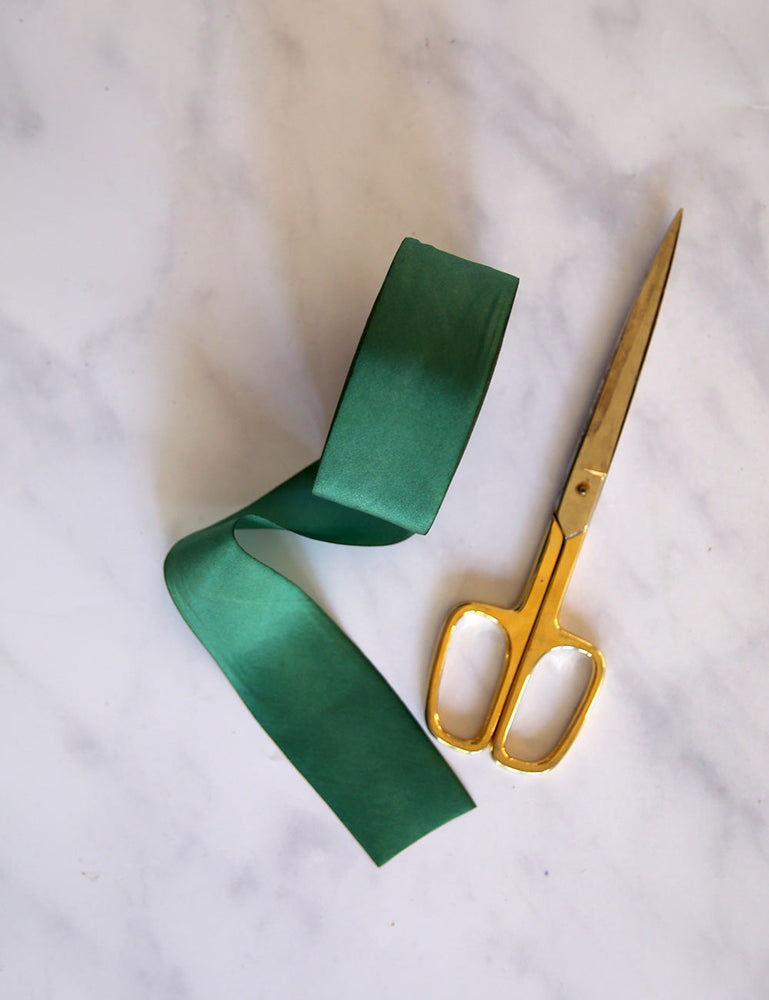 Fern Silk Ribbon - 3 metres