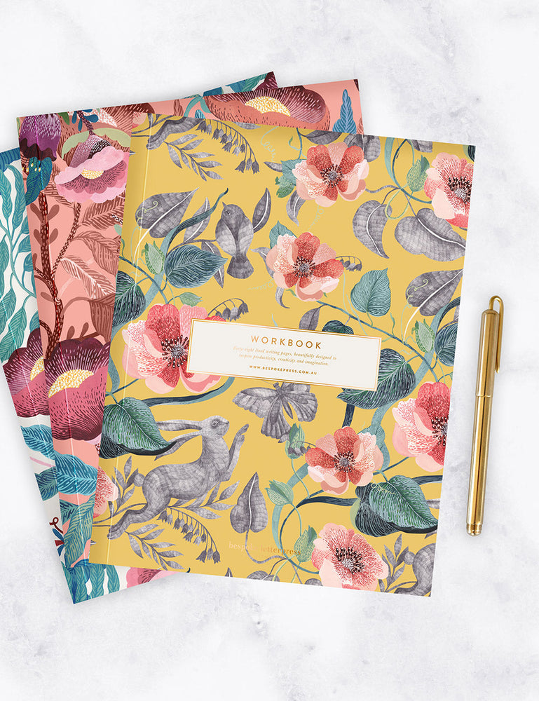 Blomstra Workbook - Hare and Butterfly