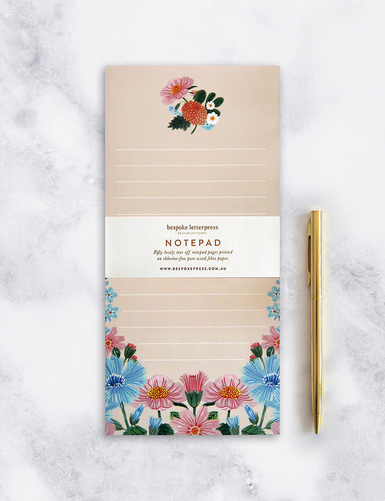 "Folk DL Notepad ""Floral"""