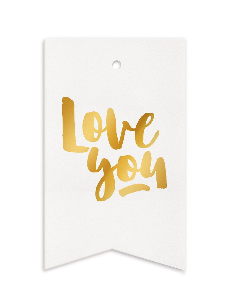 Love You Gift Tags - 10 pack