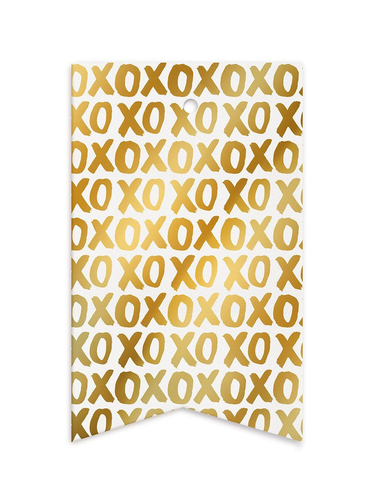 XOXO Gift Tags - 10 pack