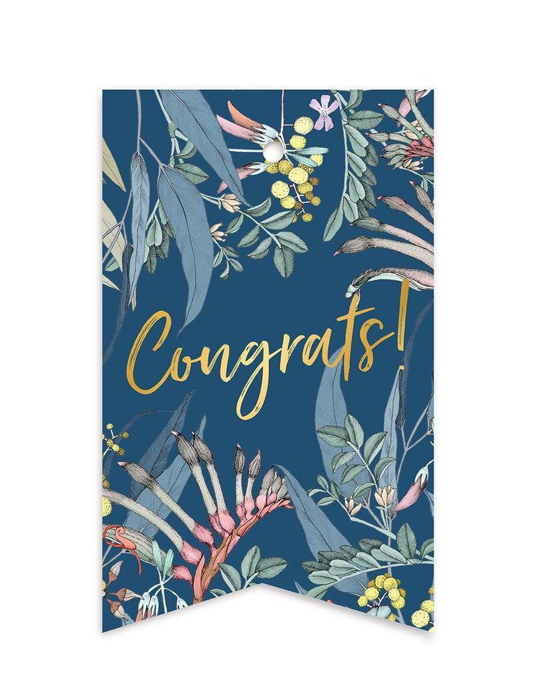 Native 'Congrats' Gift Tags - 10 pack