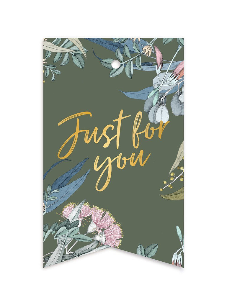 Native 'Just For You' Gift Tags -10 pack