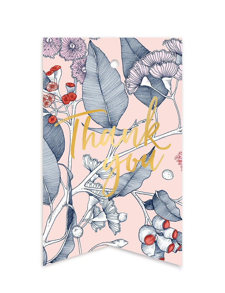 Native 'Thank You' Gift Tag - 10 pack