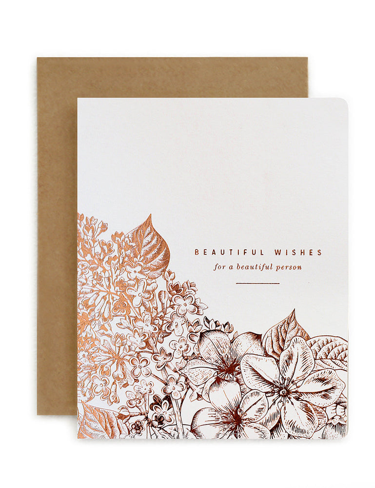 Botanical 'Beautiful wishes'