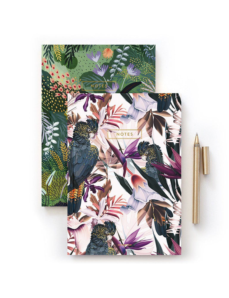 Jungle A5 Notebook - 2 pack