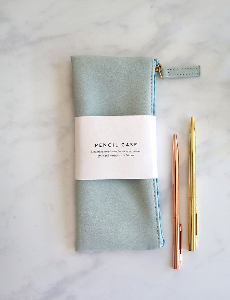 Pencil Case - Pale Blue