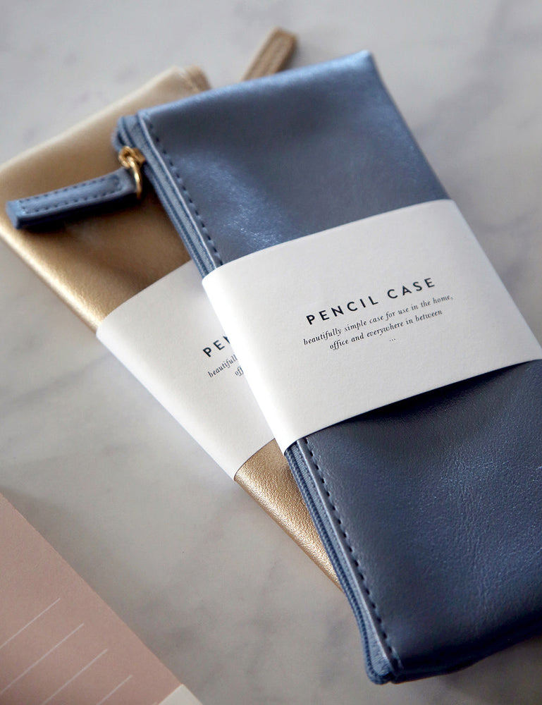 Pencil Case - Dark Blue