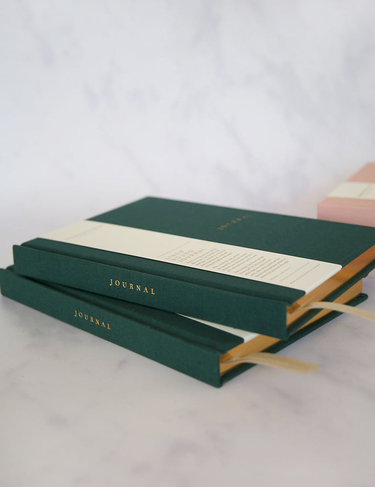 Linen Bound Journal - Teal