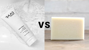 FOR YOUR FACE: REGULAR SOAP Vs FACE WASH