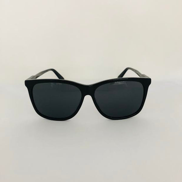 GUCCI GG0495SA001 BLACK MEN'S SUNGLASSES - ASIAN FIT