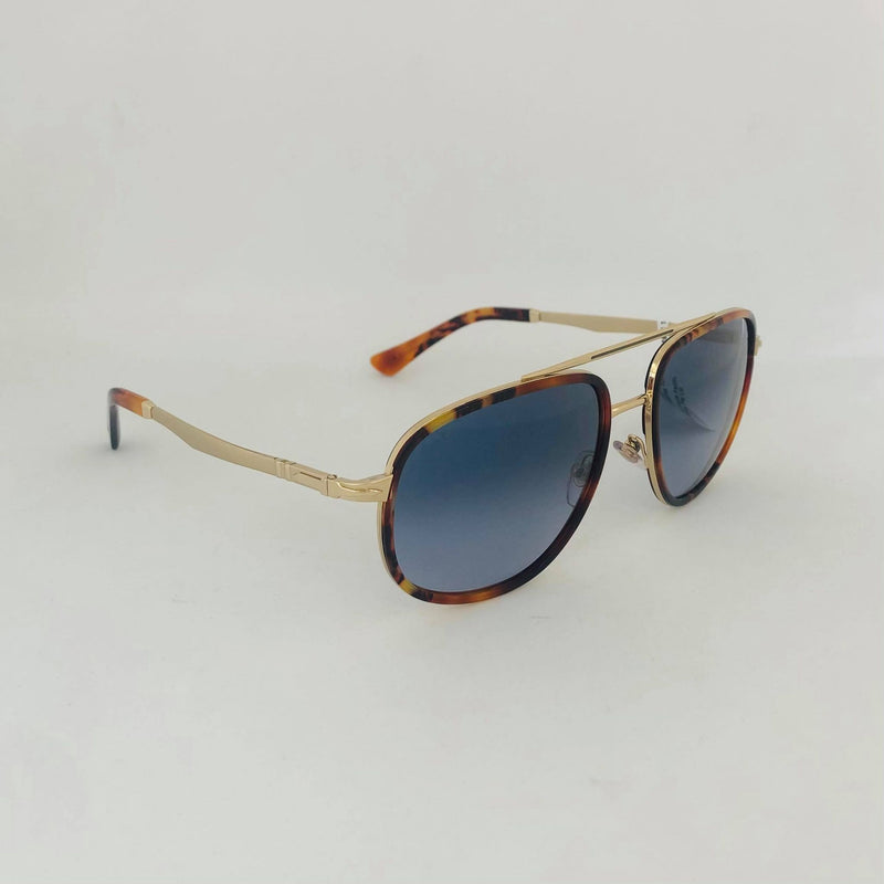 PERSOL 2465S 1089Q8 GOLD BROWN AZURE GRADIENT BLUE