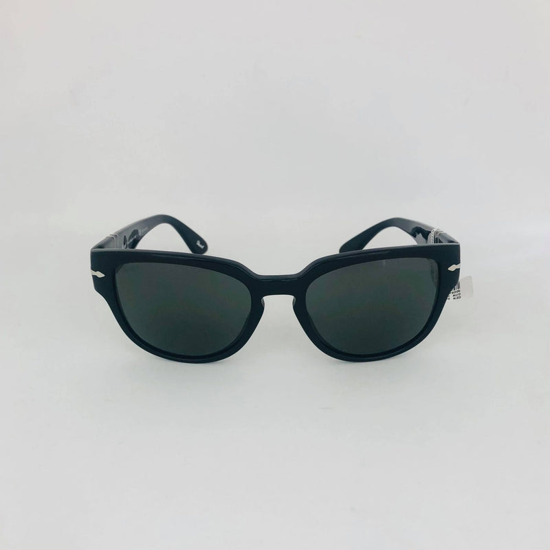 PERSOL 3231S 95/58 54 BLACK WITH POLAR GREEN