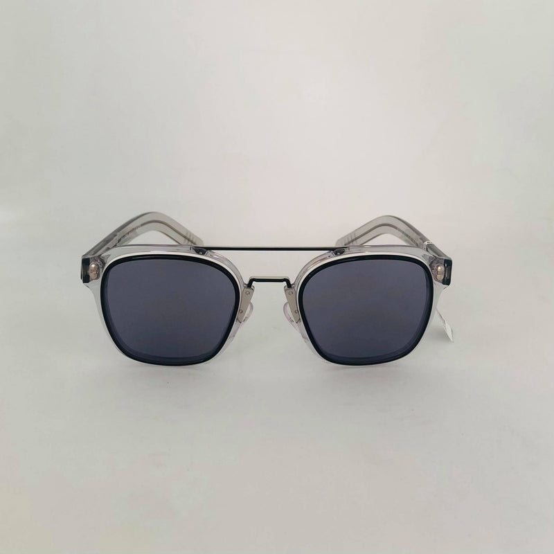PRADA | 07WS 04L42050 | BLACK WHITE GREY W/ BLUE