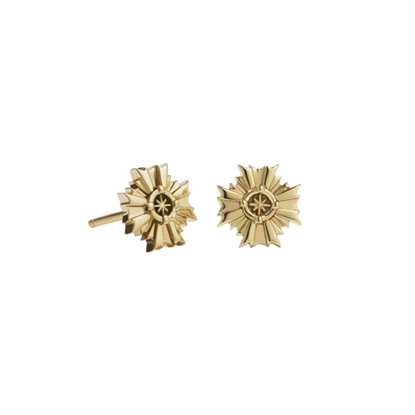 MEADOWLARK | AUGUST STUD EARRINGS | GOLD PLATED