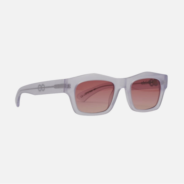 CHILDE | FOLSOM | BIO-ACETATE CRYSTAL | ROSE GRADIENT VITAL LENS