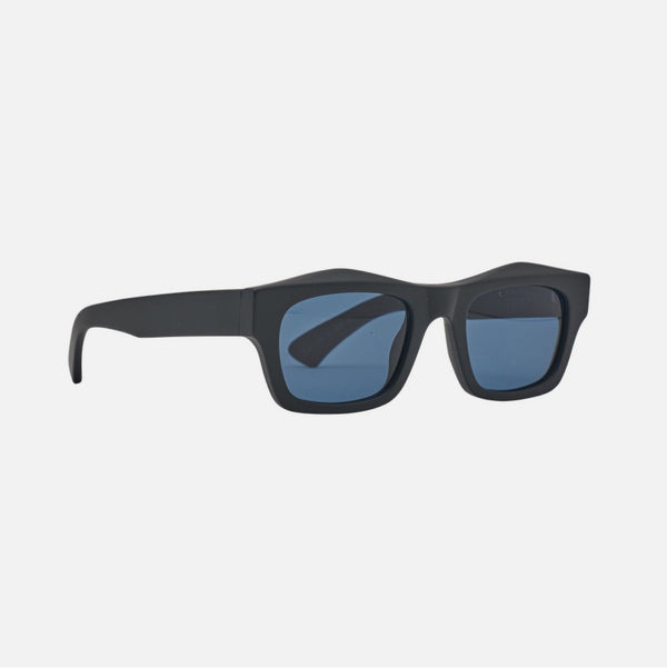 CHILDE FOLSOM MATT BLACK / BLUE TELLURIC LENS CAT 3