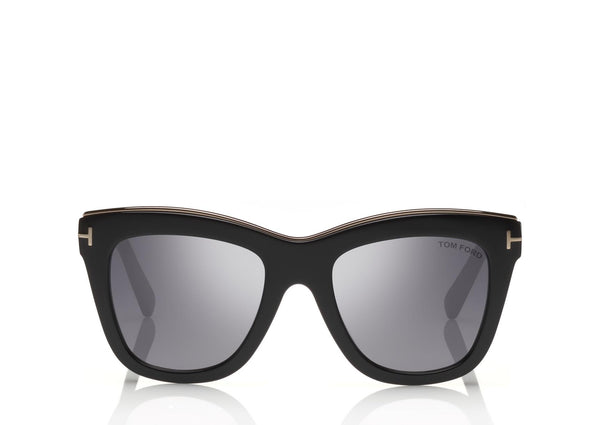 TOM FORD | TF685 01C JULIE 52 | BLACK SMOKE / GRADIENT LENS CAT 3