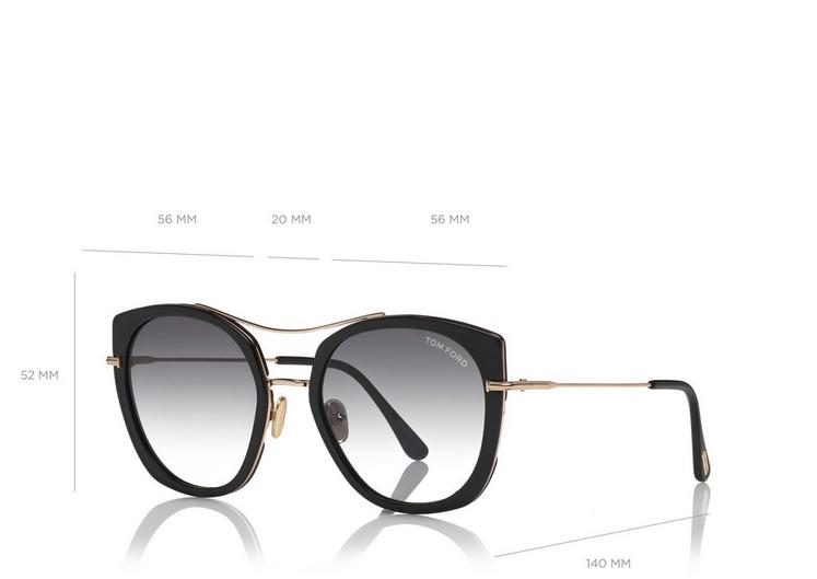 TOM FORD | TF760 01B JOEY 56 | BLACK