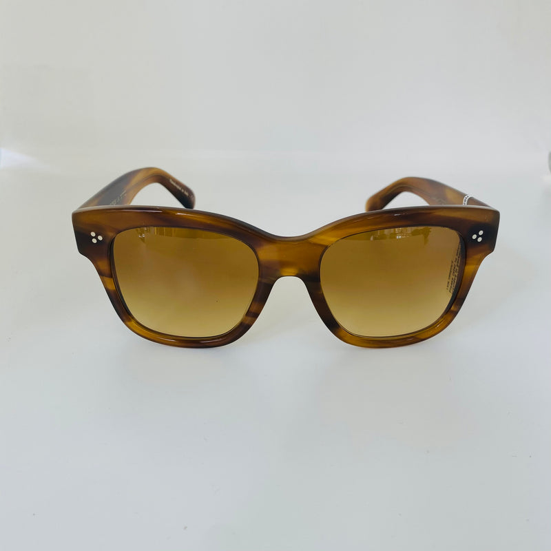OLIVER PEOPLES  OV5442SU 10112L 54 MELERY RAINTREE WITH AMBER BROWN GRADIENT